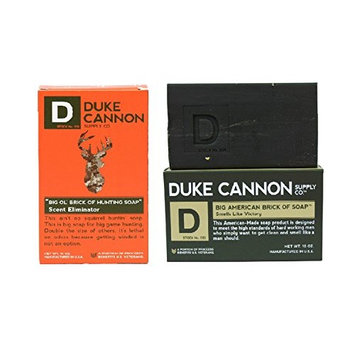 Duke Cannon Hunting Soap Scent Eliminator With Big American Victory Brick - Combo 2 Pack