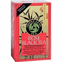 Triple Leaf Tea - Black Tea - Rose - 20 Tea Bags - 1 Case