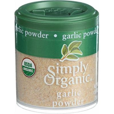 Simply Organic Garlic - Organic - Powder - .92 oz - Case of 6
