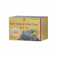2 Pack of Health King Easy-Going and Colon Clean Herb Tea - 20 Tea Bags
