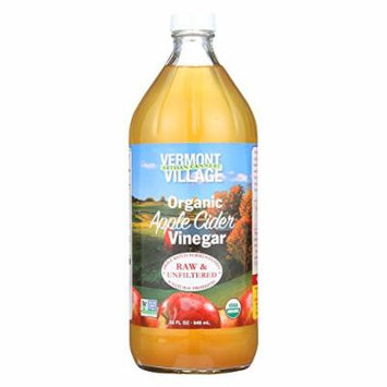 Vermont Village Organic Apple Cider Vinegar - Case of 6 - 32 Fl oz.