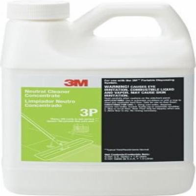 3M® Neutral Cleaner Concentrate 3P, Fresh, 1.9 Liters, 6/Case