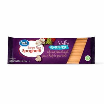 Great Value Gluten-Free Brown Rice Spaghetti, 16 oz