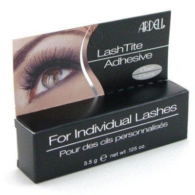 Ardell Lashtite Adhesive Clear 0.125oz Bottle (Black Package) (3 Pack) by Ardell
