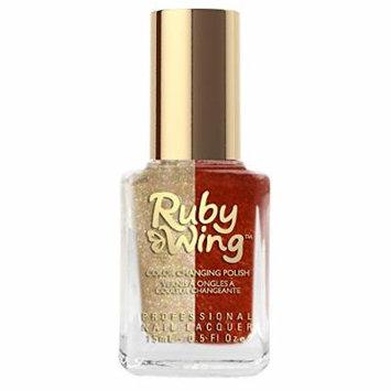 Ruby Wing Sunken Treasure Hello Sailor Nail Polish, Gold Glitter, 0.5 Fluid Ounce (Pack of 12)