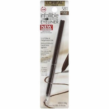 L'oreal Paris Infallible Never Fail Eyeliner, Black Brown, 2 Ea by L'Oreal Paris