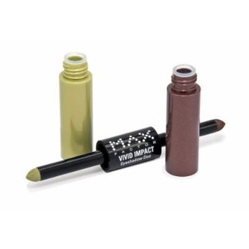Max Factor Vivid Impact Eyeshadow Duo, Irish Coffee 110, 0.034-Ounce Packages by Max Factor