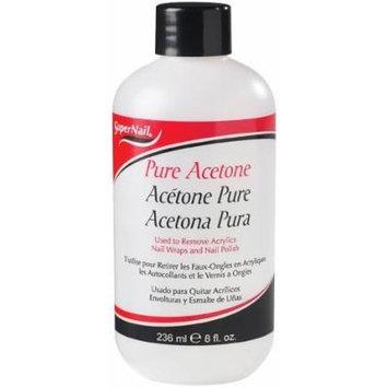 Super Nail Nail Polish Remover - Pure Acetone 8 oz. by Super Nail