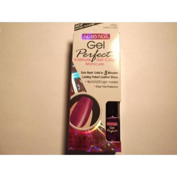 Nutra Nail Gel Perfect Purple Luxe 12331 Activator 0.25 Fl Oz, Gel-color 0.17 Fl Oz, Brush Cleaner 0.17 Fl Oz by Nutra Nail