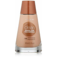 CoverGirl Clean Liquid Makeup, Natural Beige (N) 140, 1.0-Ounce Bottles by COVERGIRL