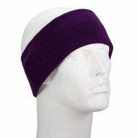 Purple USA Made Stretch Headband - Single Piece
