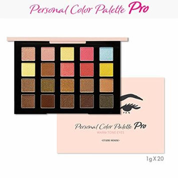 EtudeHouse Personal Color Palette Pro 20g / Powder Room awarded item (Warm Tone)