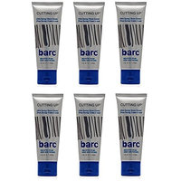Barc Cutting Up, Unscented Shave Cream, 2 Oz (Pack of 6) + FREE Scunci Black Roller Pins, 18 Pcs