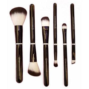 Beauticontrol 6-Pieces Cosmetic Brush Set + Brush Case NEW!