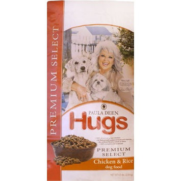 Hugs Pet Products Paula Dean Premium Select Dog Food Chicken and Rice 12 lbs