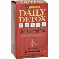 Wellements Rooney CV Daily Detox All Natural Decaffeinated Tea Original - 30 Sachet pack of -1 by Daily Detox
