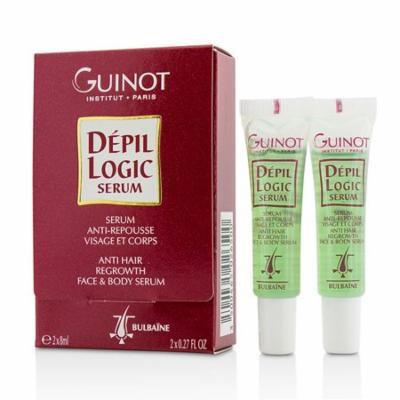 Depil Logic Anti Hair Regrowth Face & Body Serum-2x8ml/0.27oz