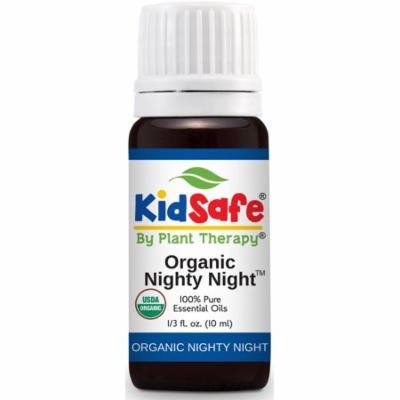 Plant Therapy Nighty Night Organic Synergy Essential Oil 10 mL (1/3 oz) 100% Pure, Undiluted, Therapeutic Grade