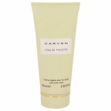 Carven L'eau De Toilette by Carven - Body Cream 3.3 oz