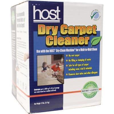 Host-4Hb Dry Carpet Cleaner - 12Lb Box