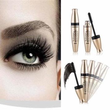 Women Black Mascara Waterproof Quick Dry Lengthening Makeup Mascara Cream GlSTE