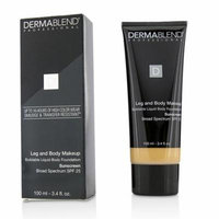 Leg and Body Make Up Buildable Liquid Body Foundation Sunscreen Broad Spectrum SPF 25 - #Light Natur