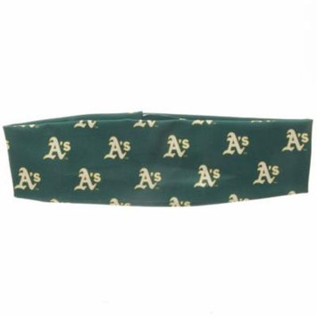 Oakland Athletics Coolcore Headband - Green - No Size