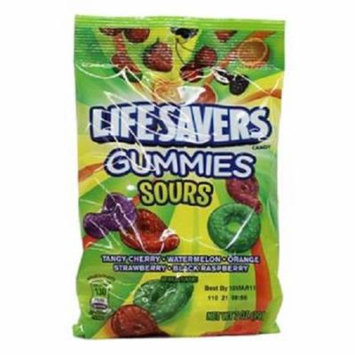 Product Of Lifesavers, Gummies Sours, Count 12 (7 oz) - Sugar Candy / Grab Varieties & Flavors
