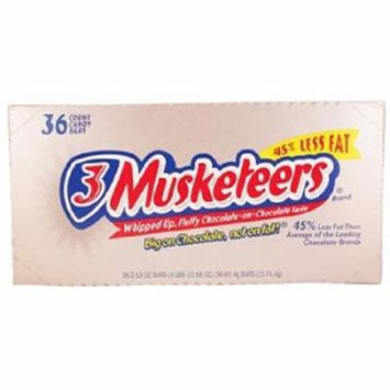 Product Of 3 Musketeers, Chocolate Bars, Count 36 (1.92 oz) - Chocolate Candy / Grab Varieties & Flavors