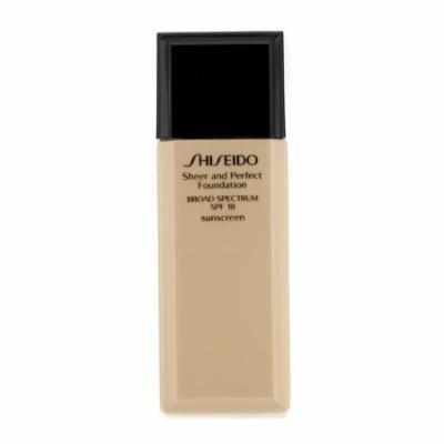 Shiseido Sheer & Perfect Foundation SPF 18 - # B00 Very Light Beige - 30ml/1oz