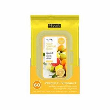 (3 Pack) NICKA K Make Up Cleansing Tissue - Vitamin C