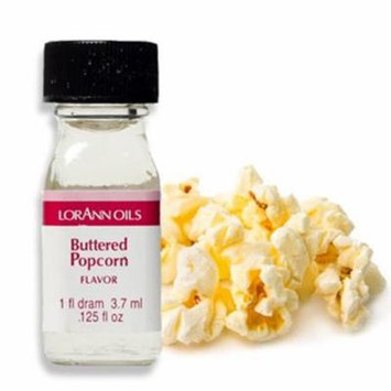 Buttered Popcorn Flavor - 2 Dram Pack - LorAnn Oils - Includes a Recipe Card