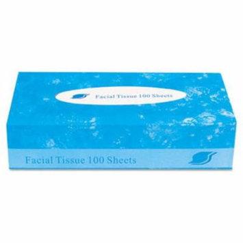 General Supply GENFACIAL30100 Boxed Facial Tissue, 2-ply, White, 100 Sheets/box
