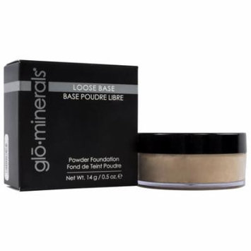 Glo Minerals Loose Base Powder Foundation Honey Light 0.5 oz - New in Box