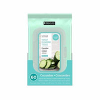 (3 Pack) NICKA K Make Up Cleansing Tissue - Cucumber