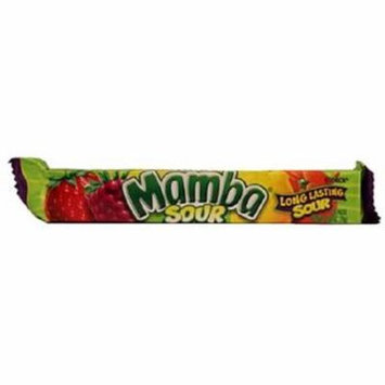 Product Of Mamba, Sour Fruit Chews, Count 24 (2.65 oz) - Sugar Candy / Grab Varieties & Flavors