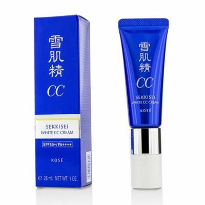 Sekkisei White CC Cream SPF50+ PA++++ - # 02 Ochre-26ml/1oz
