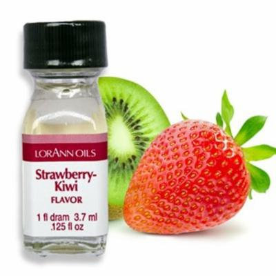 Strawberry Kiwi Flavor - 2 Dram Pack - LorAnn Oils - Includes a Recipe Card