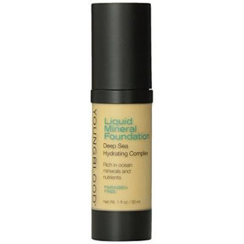 Youngblood Liquid Mineral Foundation, Shell, 1 Ounce by Youngblood