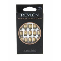 2 pack of Revlon Runway Collection,Starlet, Medium Length Nails in 12 Sizes