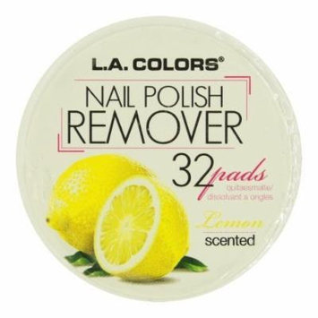 La Colors Polish Remover Pads - Lcnr961 Lemon Scent Pack of 3 by Beauty 21