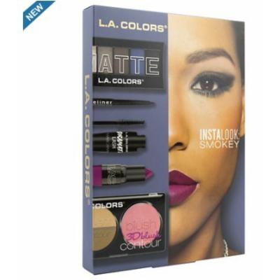 2 pack of L.A. Colors Instalook 20 Piece Set Smokey 1 ea
