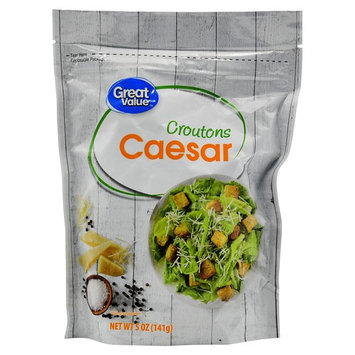 Great Value Caesar Croutons, 5 oz