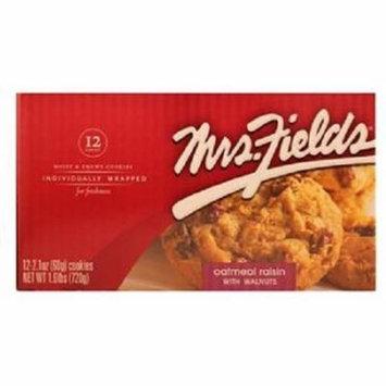Product Of Mrs Fields, Oatmeal Raisin W/Walnuts, Count 12 - Cookie & Cracker / Grab Varieties & Flavors