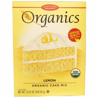 European Gourmet Bakery, Organics, Cake Mix, Lemon, 15.25 oz (pack of 2)
