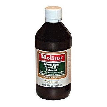 Molina Vanilla, Extract Vanilla Orgnl, 8.4 OZ (Pack of 12) by Molina Vanilla