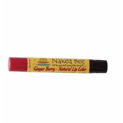 The Naked Bee GINGER BERRY Moisturizing Natural Lip Color by The Naked Bee
