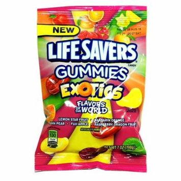 Product Of Lifesavers, Gummies Exotics, Count 12 (7 oz) - Sugar Candy / Grab Varieties & Flavors