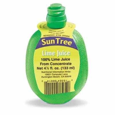 Epic 91-501 4.5 oz Sun Tree's 100Percent Lime Juice From Concentrate with Hang Tag