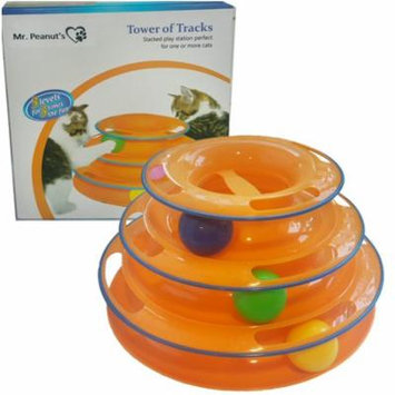 Mr. Peanut's Pet Interactive Track Ball Tower (Orange)